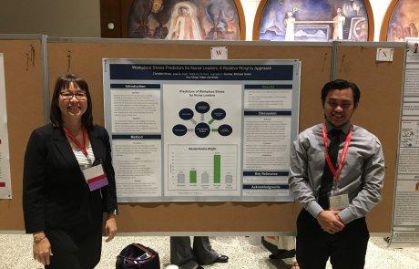 Dr Lisa Kath and Student